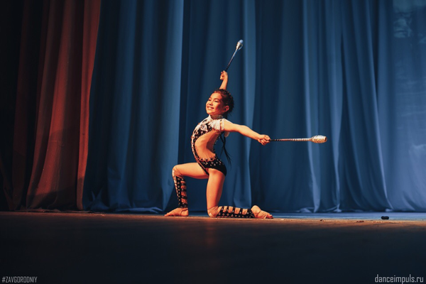 Секция детской акробатики в Оренбурге
